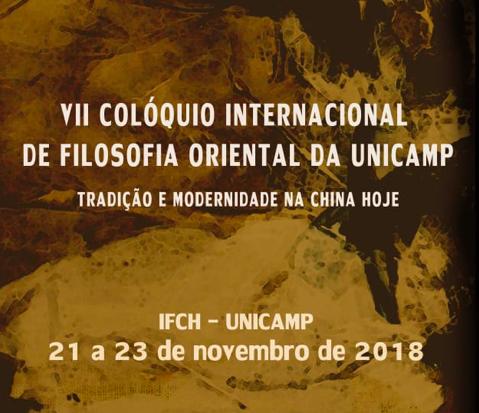 VII Colóquio Internacionalde Filosofia Oriental na UNICAMP
