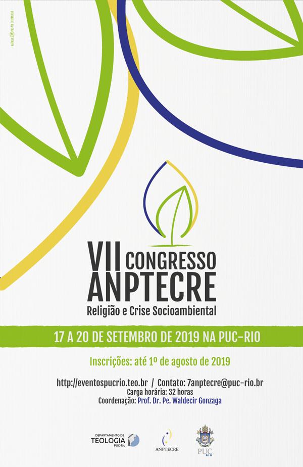 VII Congresso da ANPTECRE – Religião e Crise Socioambiental