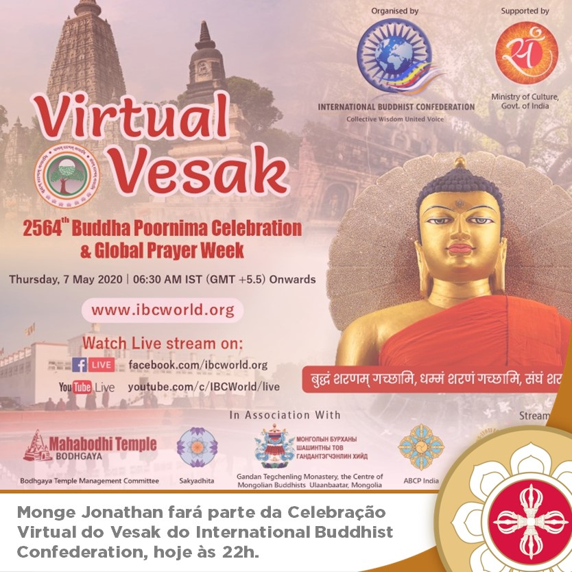 Celebração do Vesak – IBC International Buddhist Confederation