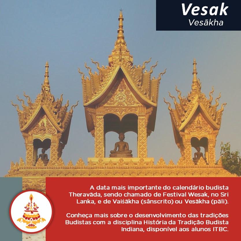 Vesak – Dia do Nascimento, Completo Despertar e Paranirvanā do Buddha histórico