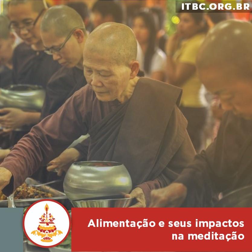 Alimentação e seus impactos na meditação