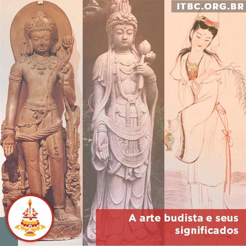 A arte budista e seus significados