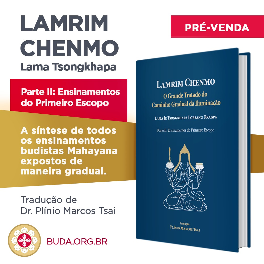 Lançamento do Segundo Volume do Lamrim Chenmo