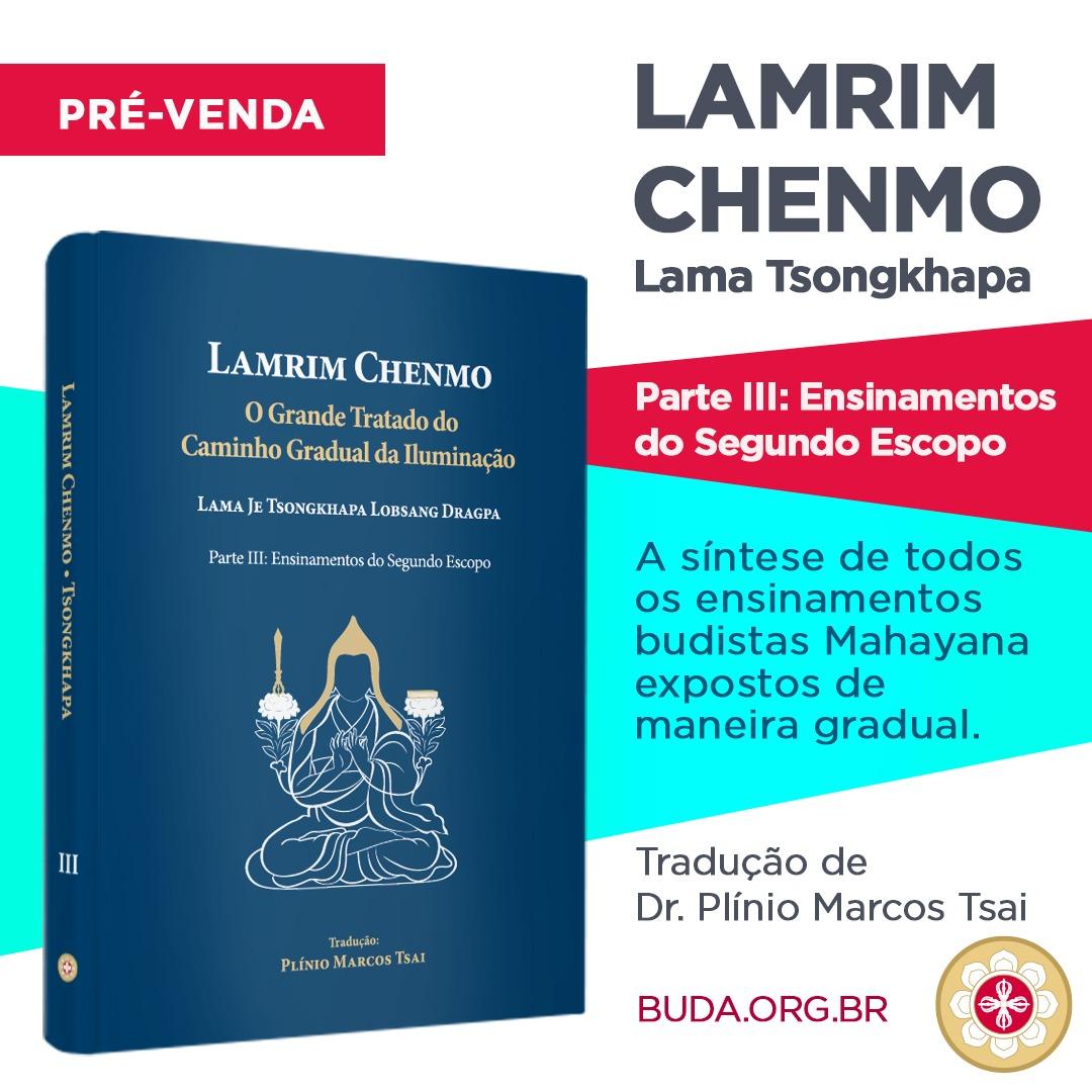 Lançamento do Terceiro Volume do Lamrim Chenmo