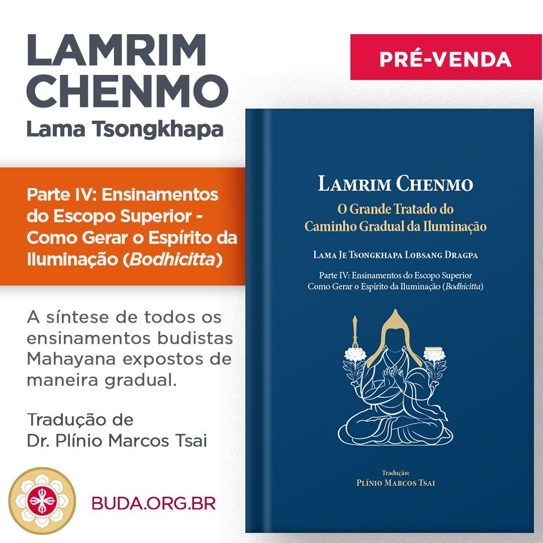 Lançamento do Quarto Volume do Lamrim Chenmo
