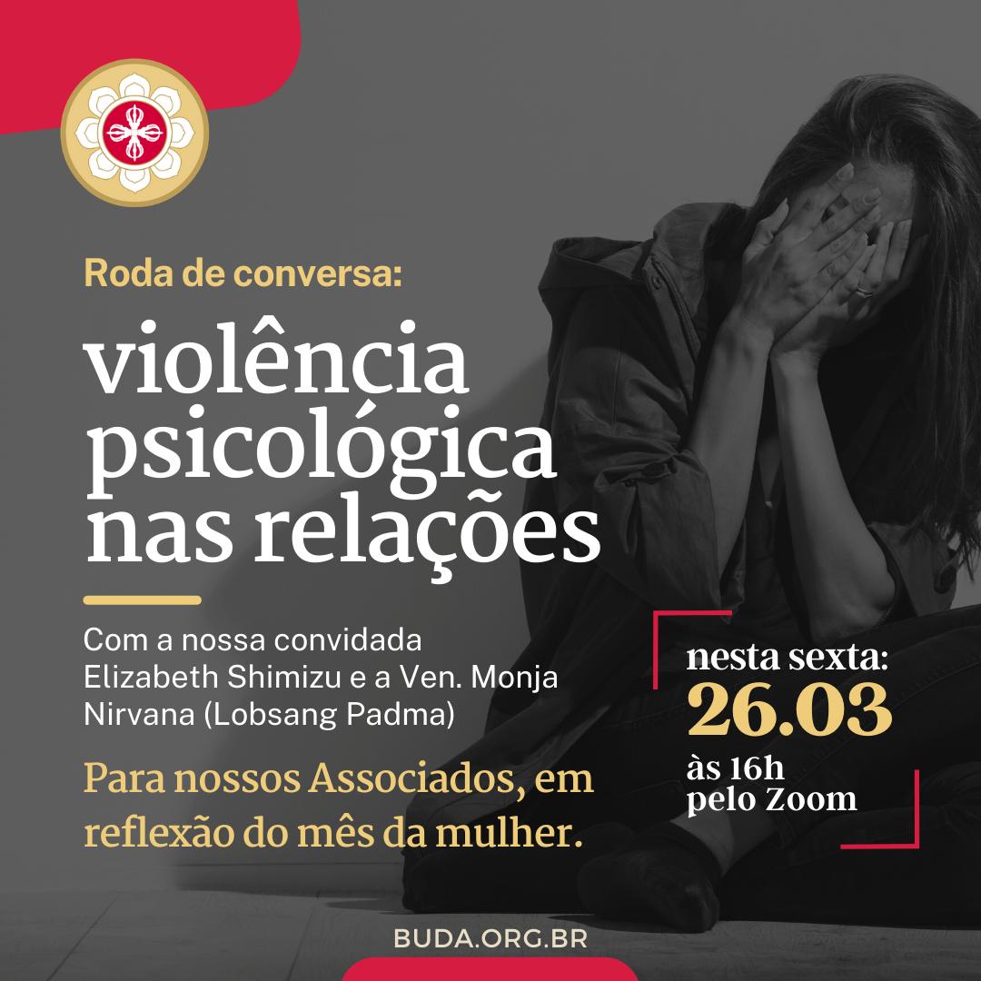 Roda de conversa: violência psicológica nas relações