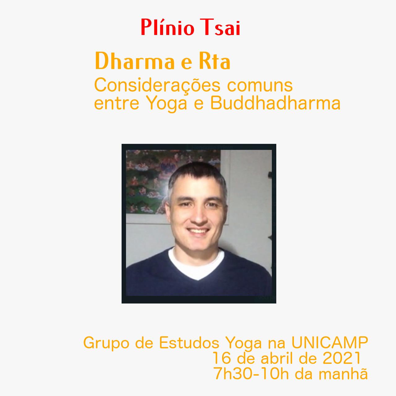 Diálogo do nosso Prof. Dr. Plínio M. Tsai com o pessoal do Yoga na Unicamp, sobre o conceito de fluxo da realidade nestes dois importantes registros de conhecimento – Budismo Indiano e Yoga.
