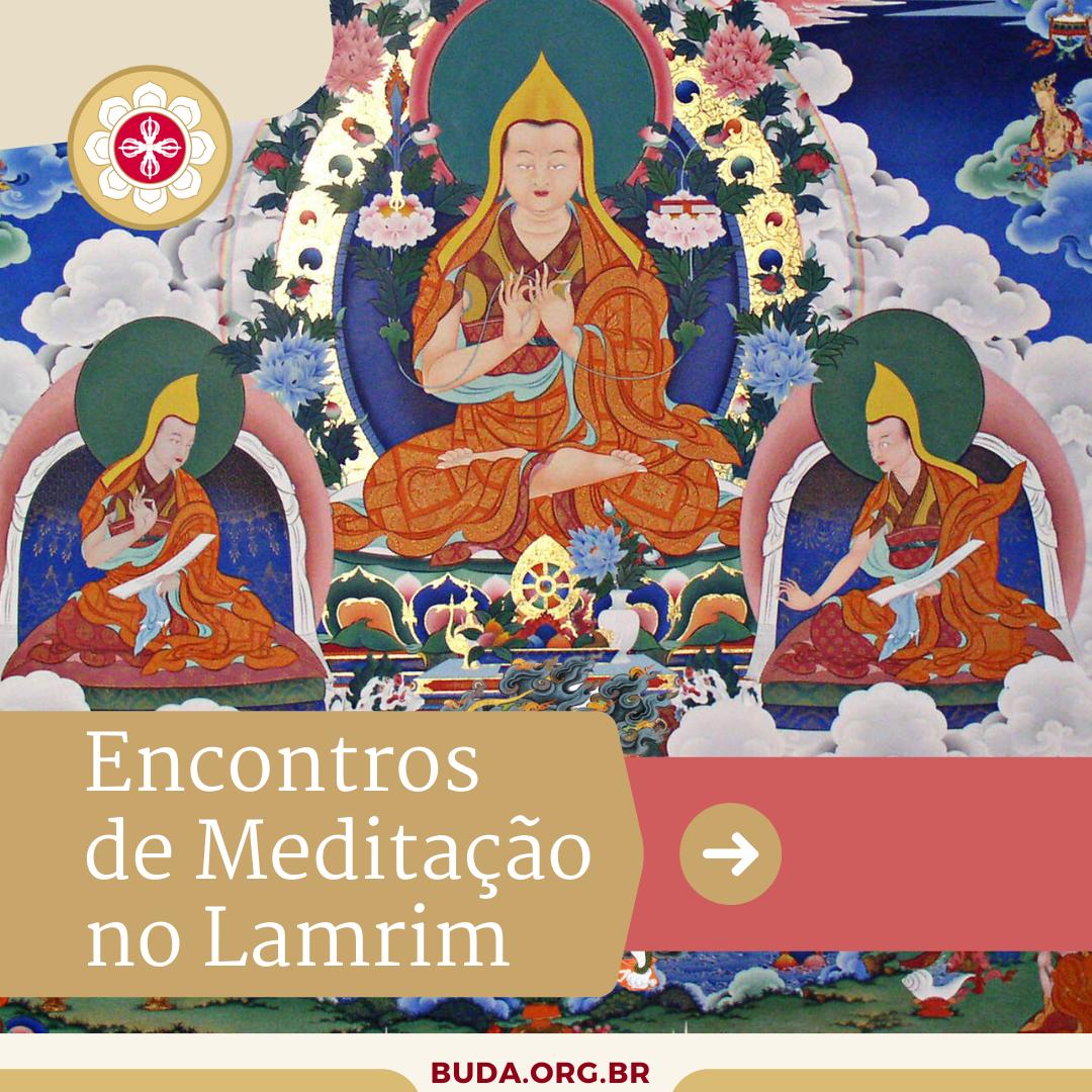 Encontros de Meditação no Lamrim
